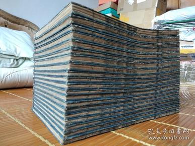 低价出售康熙44年和刻本 《通俗武王军谈》(通俗列国志) 20册全