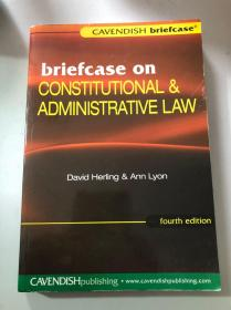 briefcase on CONSTITUTIONAL&ADMINISTRATIVE LAW (fourth edition)宪法行政法案例集
