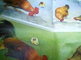 六年制小学课本 语文第二册教学图片上[比一比两幅图有何不同]2开