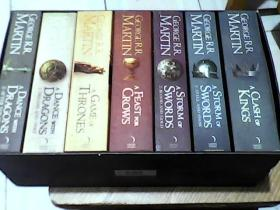 A Game of Thrones:The Story Continues: The Complete Box Set of All 7 Books(7本一套)