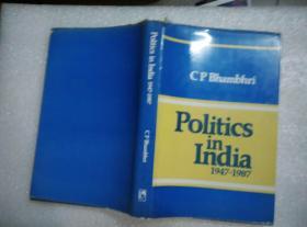 C•P•Bhambhri, Politics in India(1947-1987),《印度经济》
