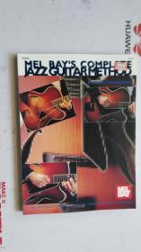 老乐谱  英文原版  MEL BAYS  COMPLETE JAZZGUITARMETHOD  梅尔湾 完成爵士吉他法