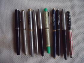 钢笔配件一堆特价商品不退不换,