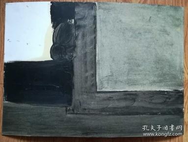 手绘软纸板水粉画:无款20190410-06