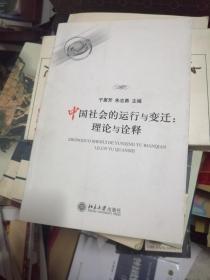 中国社会的运行与变迁:理论与诠释