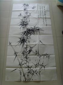 马琳:画:竹子