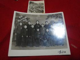 69年北京知青插队延安富县照片2张