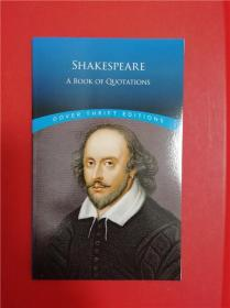Shakespeare: A Book of Quotations (莎士比亚名言录)