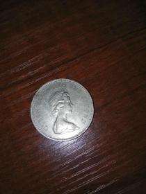 香港一元硬币•1980年