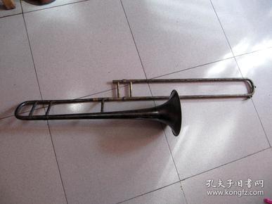 五十年代艺华鎏银长号