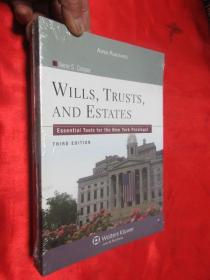 Wills, Trusts, and Estates: Essential Tools for the New York Paralegal, Third Edition      【详见图】,全新未开封