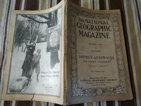 National Geographic December 1916 国家地理杂志1916年12月号 澳大利亚专辑 原版进口 品佳包邮