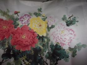 晓东先生绘画-富贵花开--大幅-品以图为准