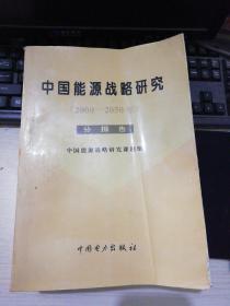 中国能源战略研究:2000~2050年 分报告