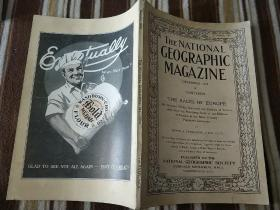 National Geographic December 1918 国家地理杂志 1918年12月号 原版进口 品佳包邮