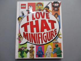 LEGO:I Love That Minifigure