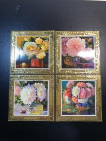 日历卡(1978)鲜花【4张】