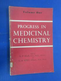 PROGRESS  IN  MEDICINAL  CHEMISTRY  Volume  one