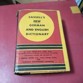 《new german and english dictionary》1939年版新德语和英语词典