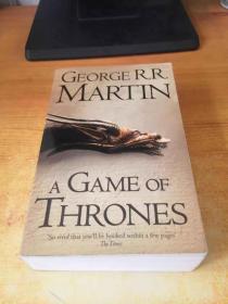 GEORGER.R MARTIN A GAME OF THRONES(乔治.马丁在玩权力的游戏)原版英文