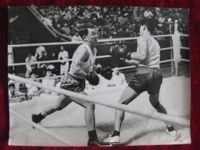 老照片   拳击 上海拳击选手    照片长20厘米宽15厘米    B箱——9号袋