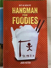 平装 Sit & Solve Hangman for Foodies (Sit & Solve Series)