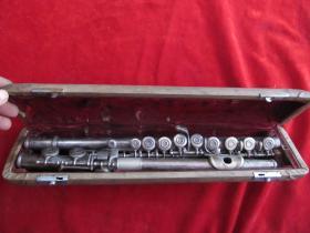 五十年代老鹦鹉牌专业演奏长笛