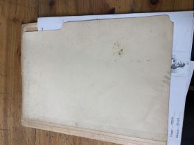 3149:52--62年HOANG 《passeport  provisoire》英文版简介9张,像是签证用的资料