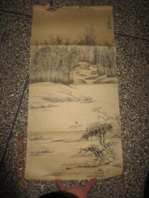 国画作品         《临征舩出水图册》      存于b纸箱246