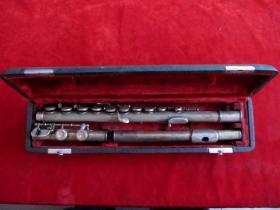 六十年代老星海牌专业演奏长笛