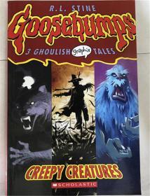 平装 Creepy Creatures (Goosebumps Graphix)  令人毛骨悚然的生物