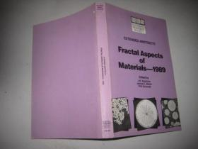 EXTENDED  ABSTRACTS  FRACTAL ASPECTS  OF  MATERIALS  --1989(16 开)
