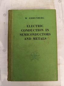 electric conduction in semiconductors and metals(H1754)