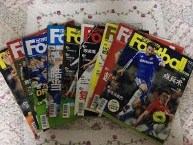足球周刊(2012年、510.514.516.517.521.524.525.529.545)共9期合售+2013徳甲冠军画报一张