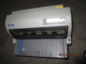 爱普生690K   增值发票税控平推  送货单  出库单   快递单针式打印机,东西重运费高,只售江浙沪皖,存于楼顶上。