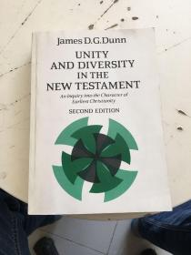 Unity and Diversity in the New Testament— An Inquiry into the Character of Earliest Christianity 国内影印本,印刷清晰,详见图