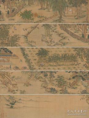 独乐园图卷.明.仇英绘.克利夫兰艺术博物馆藏(电子版)