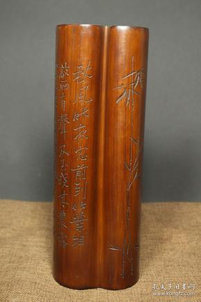 异型竹子手工雕刻
