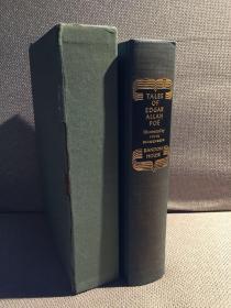 Tales of Edgar Allan Poe锛堛�婂焹寰峰姞路鐖变鸡路鍧℃晠浜嬮泦銆嬶紝Fritz Eichenberg缁忓吀鏈ㄥ埢鎻掑浘锛屽竷闈㈢簿瑁呭甫涔﹀專锛�1944骞磋�佺増涔︼級