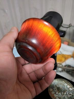 牦牛角杯,手工打磨酒杯小水杯,加厚牦牛角杯。摆件!尺寸看图