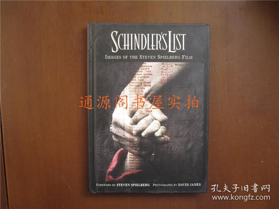 英文版:Schindler's List   Images of the Steven Spielberg Film(辛德勒名单)(32开精装,无印章字迹勾画)