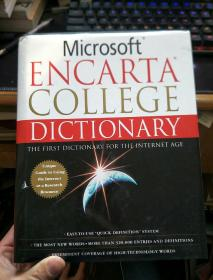 英文原版 Microsoft Encarta College Dictionary: The First Dictionary For The Internet Age