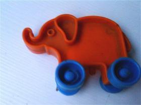 小笨象车(塑模)