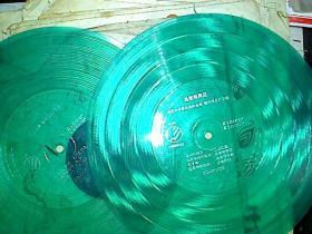 大薄膜唱片迪斯科舞星2张4面全