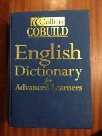 无护封 外文书店库存全新无瑕疵 权威字典   英国进口辞典第3版 柯林斯COBUILD英语词典 Collins COBUILD Advanced Learne's English Dictionary The 3th edition