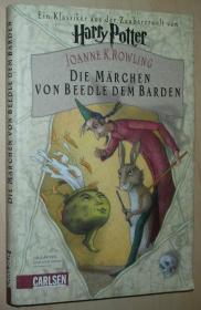 德语原版畅销小说 Die Märchen von Beedle dem Barden 精装本 Gebundenes Buch 2008 von J. K. Rowling  (Autor)