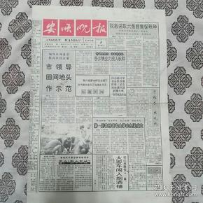 《安顺晚报》(1995年11月1日)