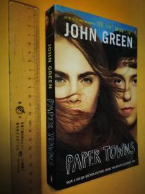英文原版 Paper Towns