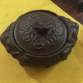 紫砂烟灰缸