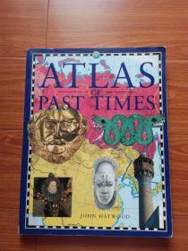 英文原版 ATLAS OF PAST TIMES(过去时代地图集)